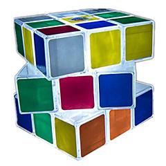 Rubiks kube Glatt Hastighetskube LED-belysning Magiske kuber Plastikker Kvadrat Gave