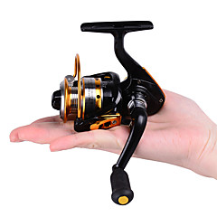 HiUmi MINI Small Fishing Reels 10bb 5.21 Carretilha Pesca Fly Fishing Wheel Spinning Reel Metal 150 Size Reel