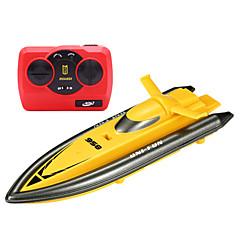 ספינת מירוץ 环奇XMX מירוץ RC סירה חשמלי עם מברשת 4 2.4G 2 אדום ירוק ורוד צהוב