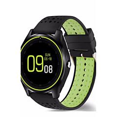 billige Smartklokker-Smartklokke til iOS / Android Lang Standby / Håndfri bruk / Kamera / Distanse måling / Pedometere Stoppeklokke / Pedometer / Samtalepåminnelse / Fitnessporing / Aktivitetsmonitor / Søvnmonitor