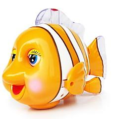 Opwindspeelgoed Speeltjes Vissen Clown Kunststoffen Stuks Niet gespecificeerd Geschenk