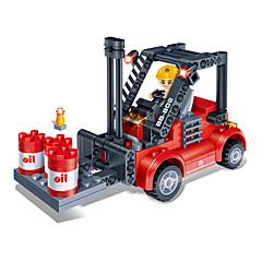 Building Blocks 3D Puzzles Toy Cars Forklift Toys Forklift DIY Kids Boys Girls Pieces