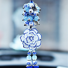 Diy automotive Anhänger eleganten Blumenwagen Anhänger&Ornaments keramik
