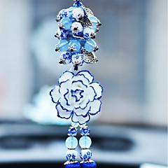 DIY bilvare pendants elegant blomst bil anheng&Ornamenter keramikk
