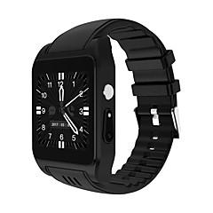 tanie Inteligentne zegarki-X86 Inteligentny zegarek Android 3G Wi-Fi Ekran dotykowy Spalonych kalorii Odbieranie bez użycia rąk Radio FM Obsługa multimediów Krokomierz Pilot Monitor aktywności fizycznej Rejestrator aktywności