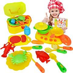 """Toy kuchyňských sestav Hračka nádobí a čajové soupravy Kuchyňskými spotřebiči děti """" Hračky Hračky Chlapci Dívčí 16 Pieces"""