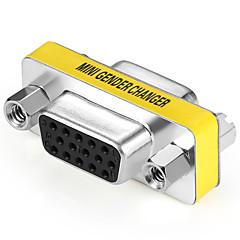VGA Adaptor, VGA to VGA Adaptor Damă-Damă Oțel placat cu nichel