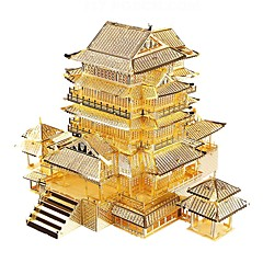 DIY KIT 3D Puzzles Metal Puzzles Toys Famous buildings Architecture 3D DIY Not Specified Boys Pieces