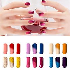 billige Neglelakk og gellakk-Neglelakk UV-Gel 7ml 1 Tørke Glitters UV Color Gel Klassisk Shimmering Dypp av langvarig Daglig Tørke Glitters UV Color Gel Klassisk