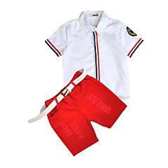billige Tøjsæt til drenge-Baby Drenge Stribe Bomuld Tøjsæt