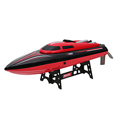 abordables -Bateau RC  WL Toys H101 Hors-Bord ABS 4 Chaînes 25 KM / H RTR