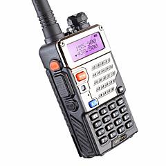 billige Walkie-talkies-BAOFENG BUV-5RE Håndholdt Programmeringskabel / Programmerbar med datasoftware / Lader og adapter 3-5 km 3-5 km 1800 mAh 5 W Walkie Talkie Toveis radio