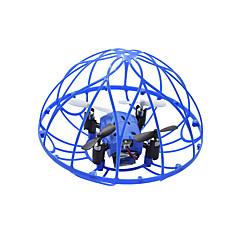 billige Fjernstyrte quadcoptere og multirotorer-RC Drone M73 4 Kanal 6 Akse 2.4G Fjernstyrt quadkopter LED-belysning USB-kabel Blader