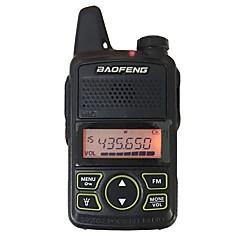 お買い得  トランシーバー-BAOFENG T1 トランシーバー ハンドヘルド 電池残量不足通知 プログラム式PCソフトウェア 節電モード 暗号化 CTCSS/CDCSS キーロック LCD 5KM-10KM 5KM-10KM トランシーバー 双方向ラジオ
