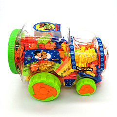 Tue so als ob du spielst Bausteine Spielzeug-Autos Spielzeuge Züge Spielzeuge Schleppe Heimwerken Kinder Kind Stücke
