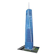 cheap -3D Puzzle Jigsaw Puzzle Famous buildings Natural Wood Kid's Unisex Gift