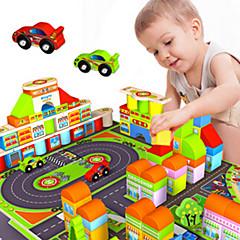 tanie Klocki magnetyczne-Klocki Wieża Znane budynki Dom Architektura Klasyczna Fun & Whimsical Dla chłopców Zabawki Prezent
