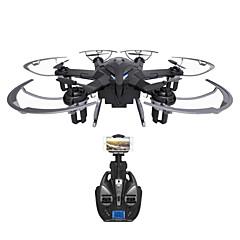 billiga Drönare och radiostyrda enheter-RC Drönare i Drone I6W 6CH 6 Axel 2.4G Med HD-kamera 720P Radiostyrd quadcopter LED Lampor / Retur Med Enkel Knapptryckning / 360-Graders
