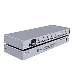VGA Verteiler, VGA to VGA 3,5 mm Audio Jack Verteiler Buchse - Buchse