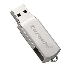 tanie Pamięć flash USB-Caraele metal rotary fat man usb2.0 128 gb pamięci flash na dysku twardym