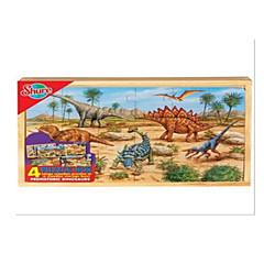 Bildungsspielsachen Holzpuzzle Spielzeuge Rabbit Dinosaurier andere friut Unisex Stücke