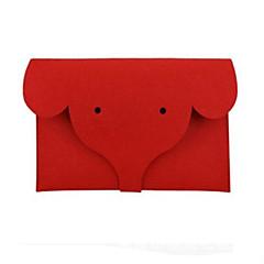 voordelige -15 inch computerwol viltzak notebook liner zak deken beschermhoes voor macbook