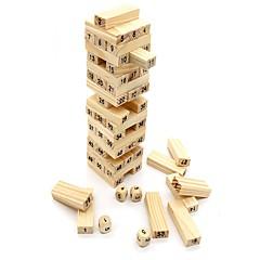tanie Gry i puzzle-Klocki Gry zręcznościowe Wieże z klocków Duży rozmiar Balans Klasyczny Unisex Dla chłopców Dla dziewczynek Zabawki Prezent