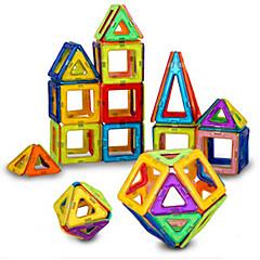 אבני בניין בלוקים מגנטיים מגדיר בניין מגדיר צעצועים Other מגנטי בגדי ריקוד ילדים חתיכות
