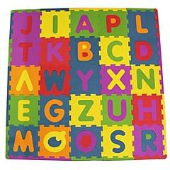Holzpuzzle Logik & Puzzlespielsachen Spielzeuge Quadratisch Buchstabe Kinder Stücke