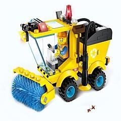 Blocos de Construir Carros de brinquedo Brinquedos Maquina de Escavar Peças Crianças Dom