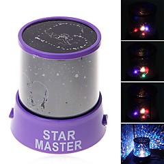 Sternennachtlicht LED - Beleuchtung Projektorlampe Spielzeuge Romantisch 1 Stücke Silvester Kindertag Geschenk