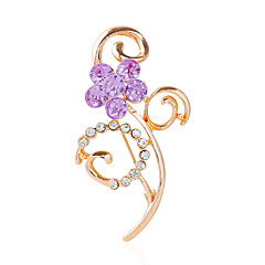 /Brooches/WE(Party)/Party/Wedding/Gold Classical Feminine Style