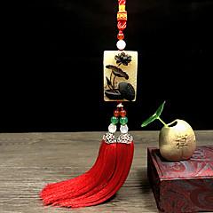 Diy Automobil Ornamente natürlichen Horn Geschenk eleganten Auto Anhänger&Ornam jade