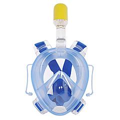 Tauchmasken Anti-Beschlag Wasserfest Ventilschnorchel Vollgesichtsmaske 180 Grad Tauchen und Schnorcheln WINMAX