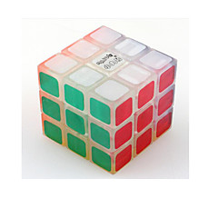 tanie Kostki Rubika-Kostka Rubika Luminous Glow Cube 3*3*3 Gładka Prędkość Cube Magiczne kostki Gadżety antystresowe Puzzle Cube Świecące w ciemności