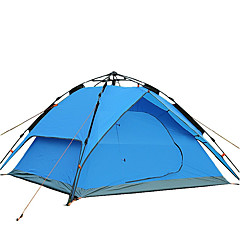 3-4 persons Tent Accessories Shelter & Tarp Double Camping Tent One Room Fold Tent Windproof Breathable Foldable Tent Outdoor Collapsible