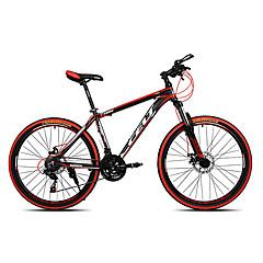 Mountain bike Kerékpározás 21 Speed 26 hüvelyk/700CC SHIMANO EF-51-7 Dupla tárcsafék Villa Merev váz Szokásos Csúszásgátló