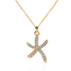 cheap Necklaces-Women's Star Choker Necklace Pendant Necklace Y-Necklace - Personalized Fashion Star Flower Necklace For Party Birthday Party / Evening