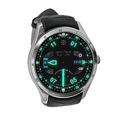 tanie Inteligentne zegarki-Inteligentny zegarek YYQ5 na Android iOS 2G Bluetooth 4.0 GPS Sport Wodoodporny Pulsometry Ekran dotykowy Pulsometr Stoper Krokomierz Rejestrator aktywności fizycznej / Spalonych kalorii