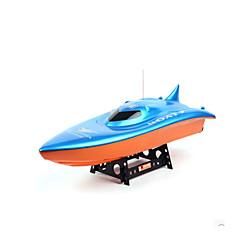 "RC סירה ESM-7002 ספינת מירוץ ABS ערוצים 6 ק""מ / ח"
