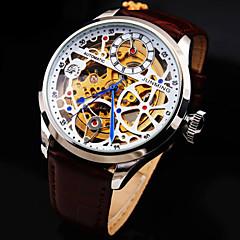 お買い得  レディース腕時計-機械式時計 自動巻き 本革 バンド ラグジュアリー