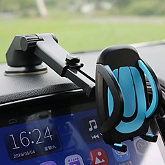 Carro Celular Suporte com Base Air Outlet Grille De Painel Universal Tipo de Cupula Titular