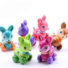 Educatief speelgoed Opwindspeelgoed Speelgoedauto's Speeltjes Hert Dier Kunststoffen Stuks Niet gespecificeerd Geschenk