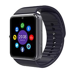 tanie Inteligentne zegarki-Inteligentny zegarek na iOS / Android Odbieranie bez użycia rąk / Kamera / aparat / Dźwięk Rejestrator aktywności fizycznej / 0.8 MP / 64 MB / GSM(850/900/1800/1900MHz) / MTK6261