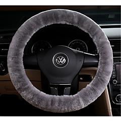 billige Rattovertrekk til bilen-Faux ull rattdeksel bilhjulbeskytter opp til 38cm