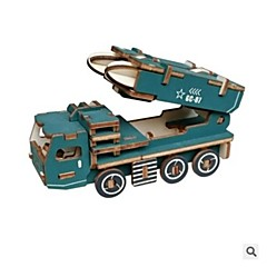 3D Puzzles Jigsaw Puzzle Logic & Puzzle Toys Military Vehicle Toys Toys Vehicles Military DIY New Design Kids' Kids Pieces