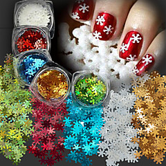 5 Manucure Dé oration strass Perles Maquillage cosmétique Nail Art Design