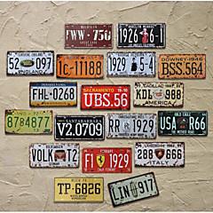 tanie Dekoracje ścienne-Vintage Dekoracja ścienna Żelazo Kute żelazo Wall Art, Metalowa sztuka ścienna Dekoracja
