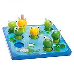 Bausteine Bildungsspielsachen Spielzeuge Rechteckig Quadratisch Frosch Heimwerken Kinder Jungen Mädchen Stücke