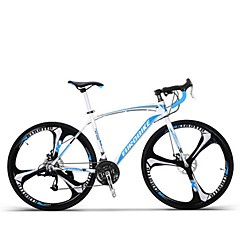 Cruiser kerékpár Kerékpározás 27 Speed 26 hüvelyk/700CC MICROSHIFT TS70-9 Tárcsafék Merev váz Csúszásgátló Aluminum Alloy Szénszálas acél